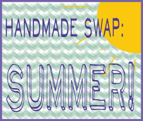 Handmade Swap: Summer on Katie Crafts; http://www.katiecrafts.com