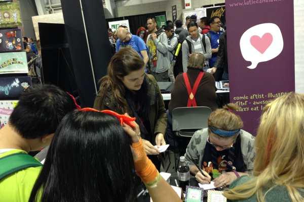 New York Comic Con 2014 Recap! by Katie Crafts; https://www.katiecrafts.com