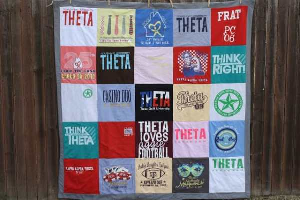 DIY T-Shirt Quilt from Sew Caroline