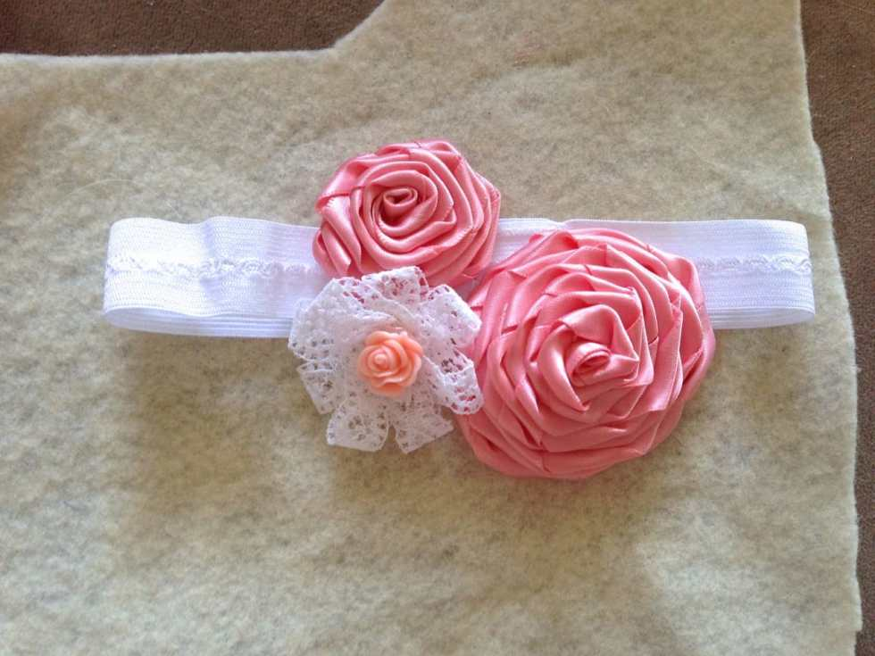 How To Make a Baby Headband Tutorial by Katie Crafts; http://www.katiecrafts.com
