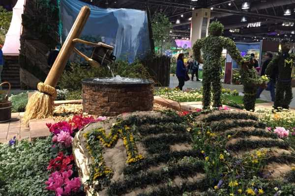 Philly Flower Show 2015 Recap by Katie Crafts; https://www.katiecrafts.com