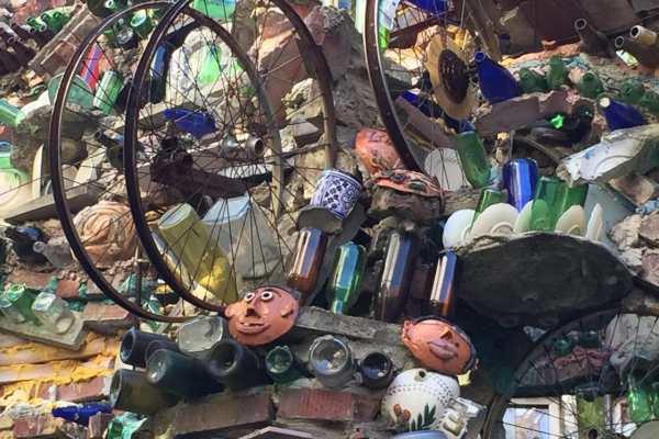 Philadelphia's Magic Gardens on Katie Crafts; https://www.katiecrafts.com