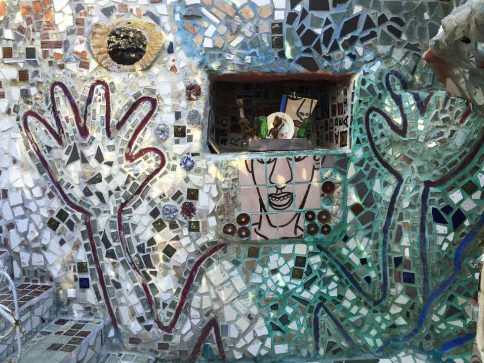 Philadelphia's Magic Gardens on Katie Crafts; http://www.katiecrafts.com