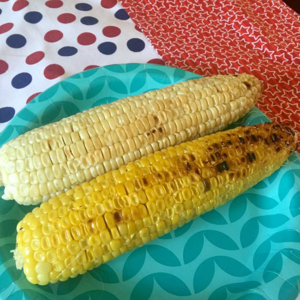 Mexican-Style Corn on the Cob Recipe by Katie Crafts; http://www.katiecrafts.com