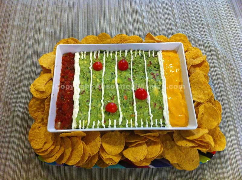 Super Bowl Sunday Snacks on Katie Crafts; http://www.katiecrafts.com