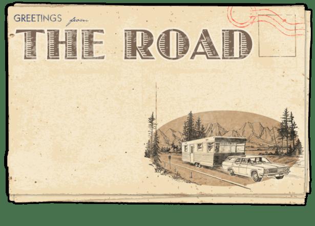 Postcard – Driving