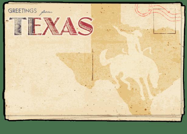 Postcard – Texas