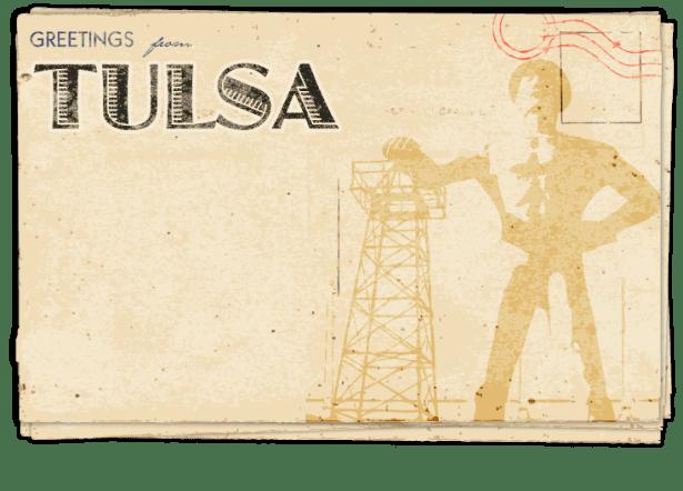 Postcard – Tulsa