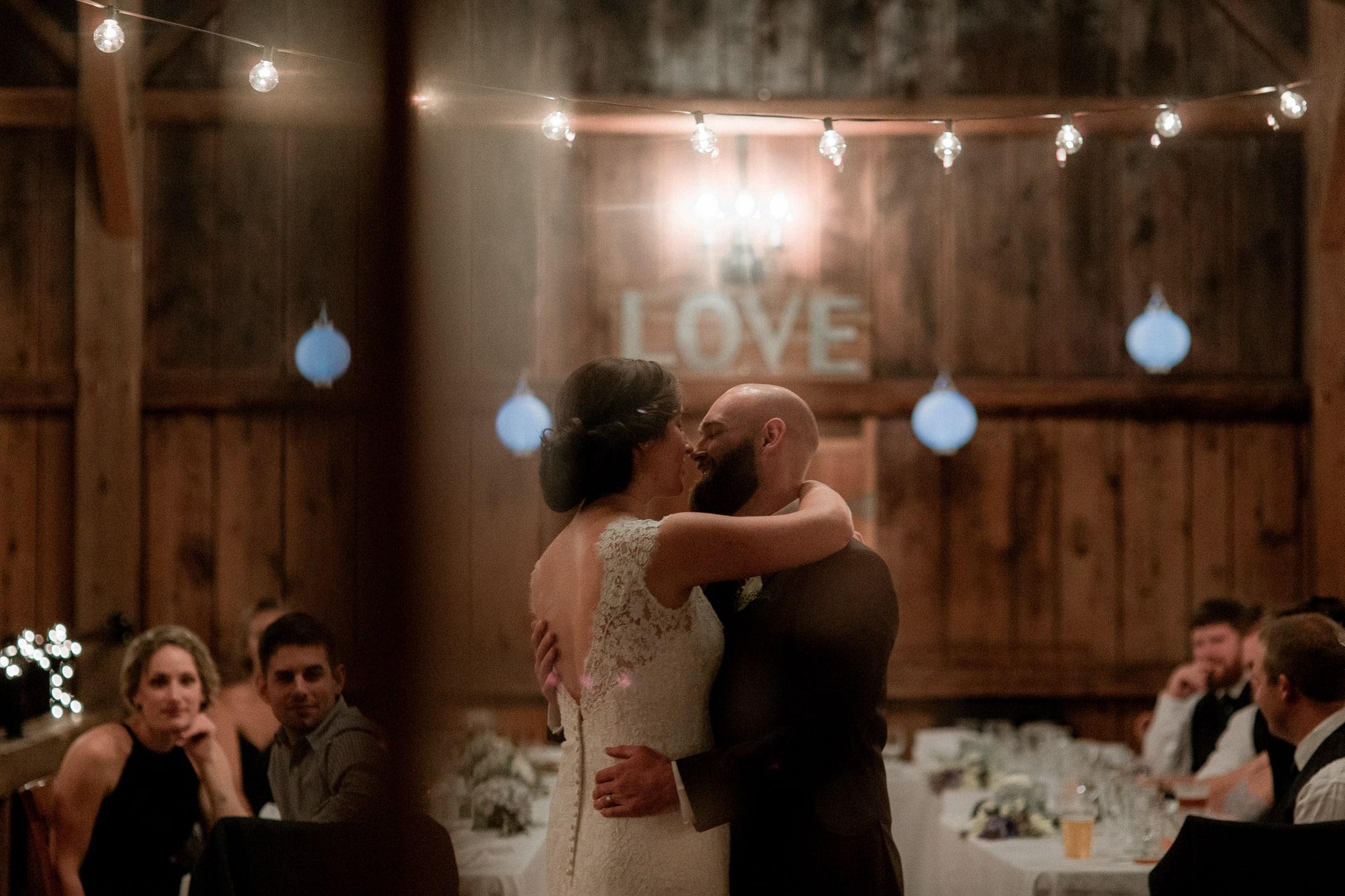 Vineyard Wedding Cambridge Vermont - Katie Jean Photography