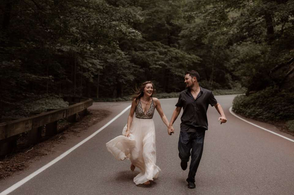 Emily and Jason // Smuggler's Notch Engagement