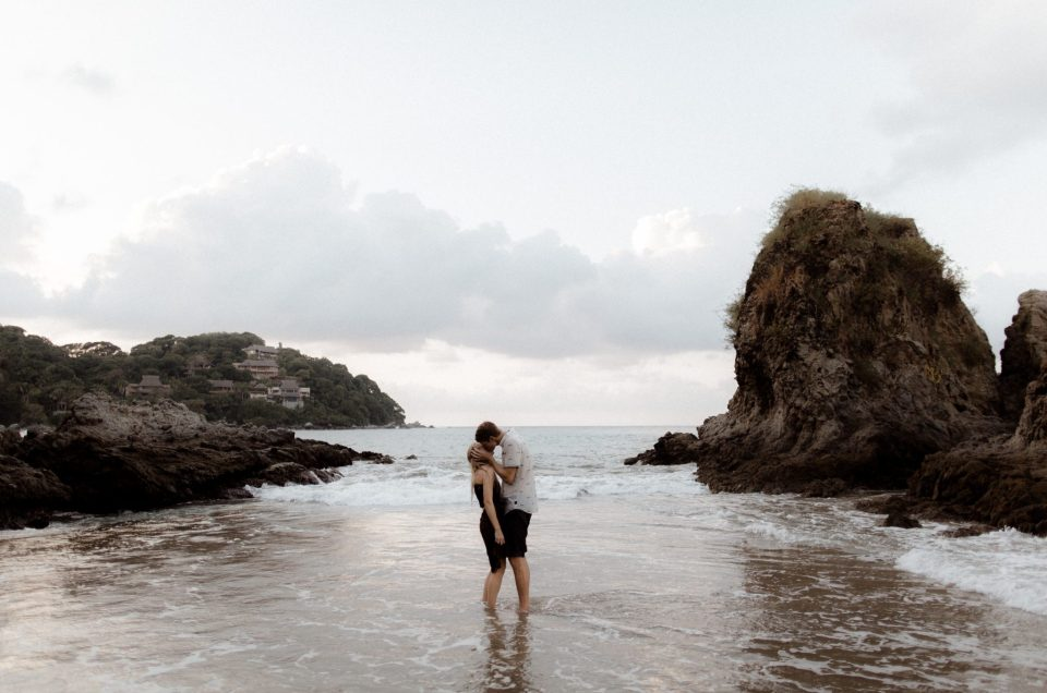 Kara and Alex // Sayulita Engagement Session