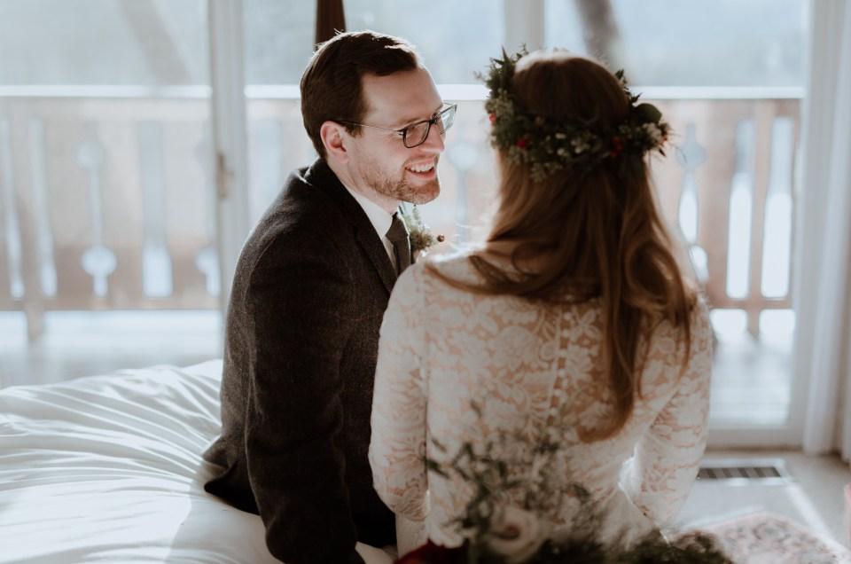 Christina and Scott // Stowe Vermont Wedding