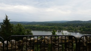 A view of the Connecticut River from Gillette Castle.