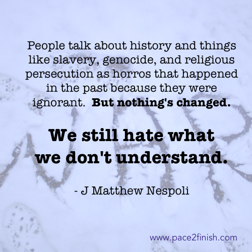 We still hate what we don't understand