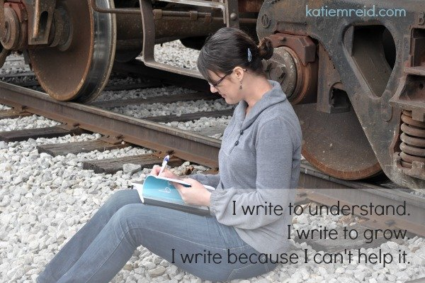 This is why I write by Katie M. Reid
