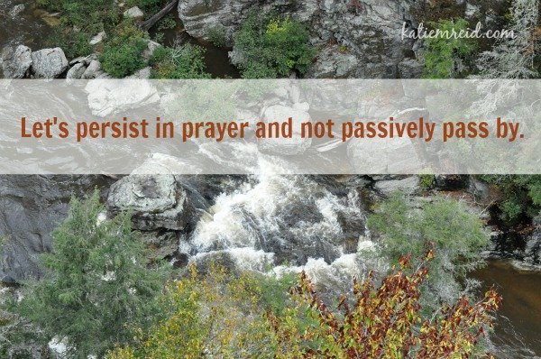 Persist in Prayer by Katie M. Reid