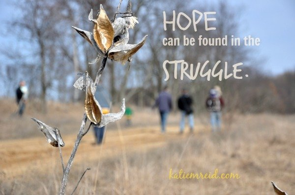 Hope in the Struggle for Katie M. Reid