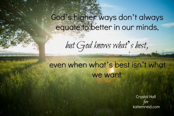 God Knows Best image by Crystal Hall