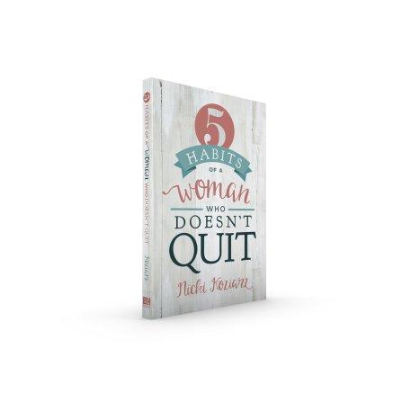 5 habits book by Nicki Koziarz