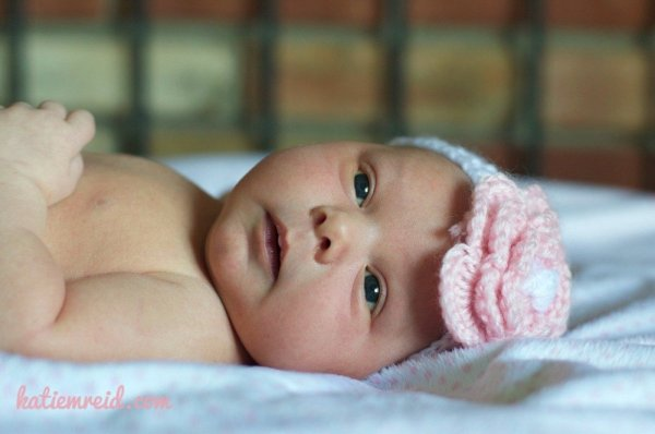 Baby Girl by Katie M. Reid Photography