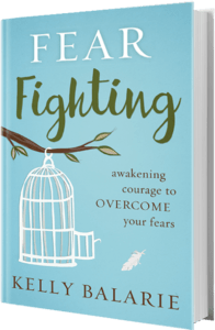 Fear-fighting book by Kelly Balarie