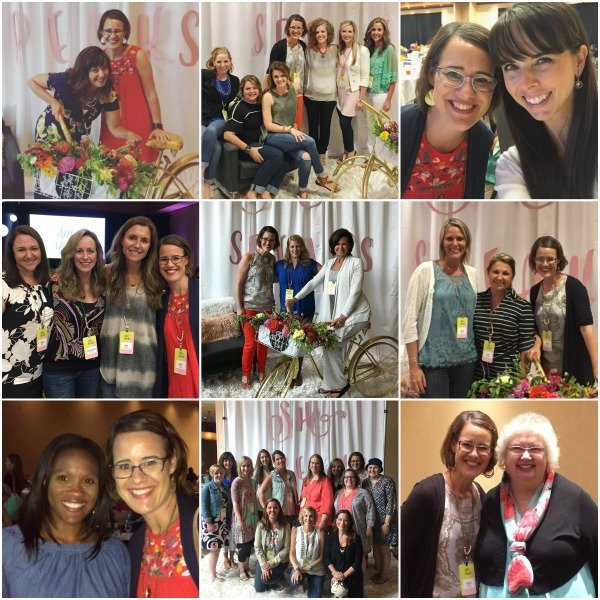 Proverbs 31 Ministries She Speaks Conference 2017 Photo Collage by Katie M. Reid with Authors and Speakers