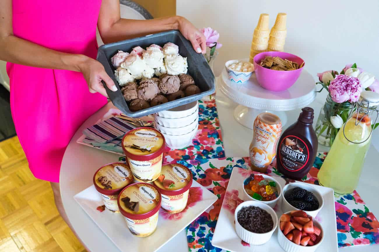 Sweet Summer Social Tips For Hosting An Ice Cream Party