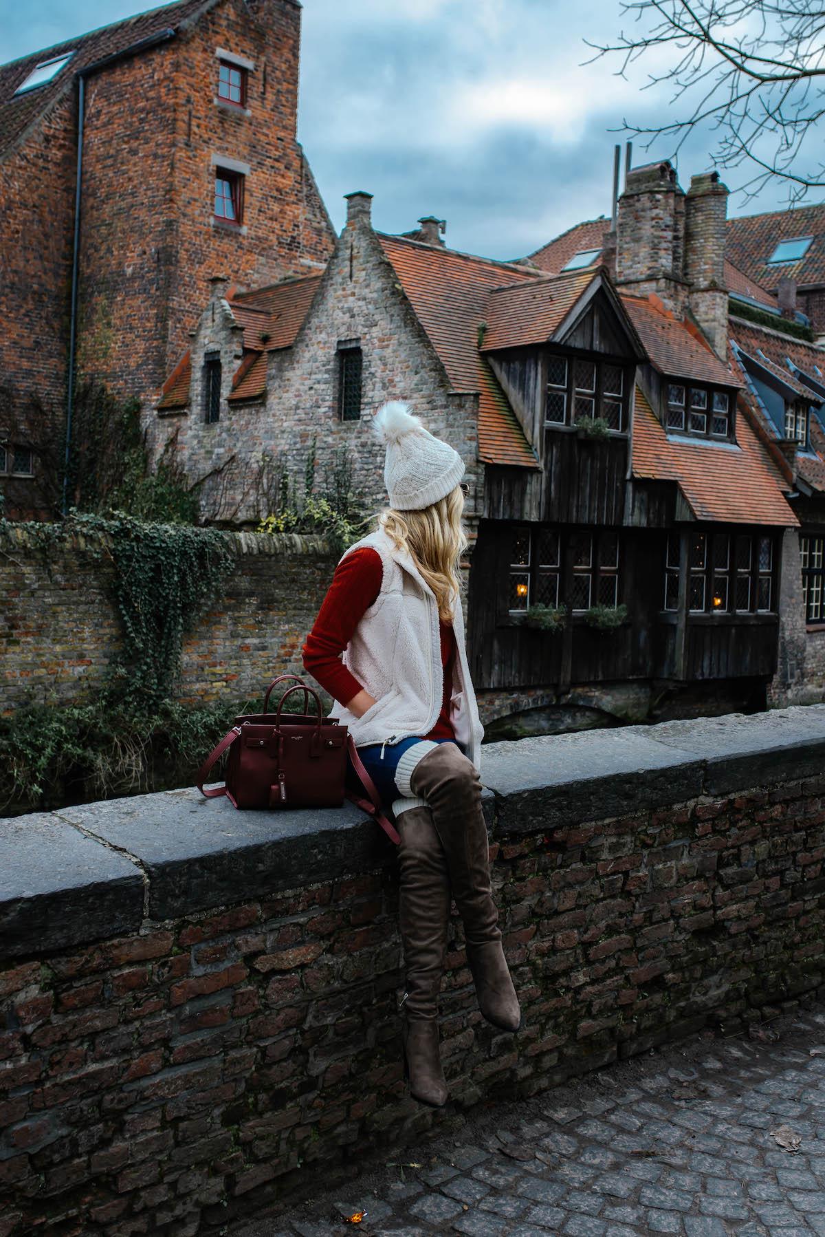 Bruges Christmas During