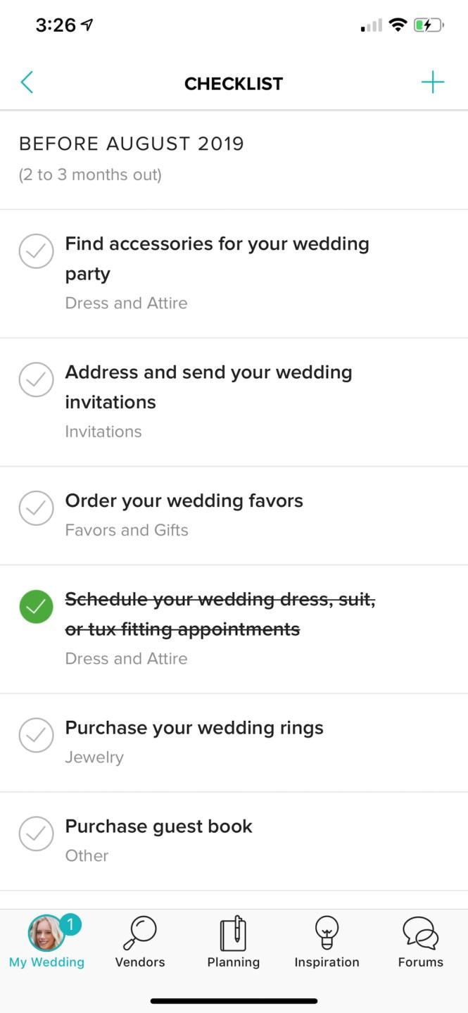 Wedding Update 6 Cake Tasting Honeymoon Officiant