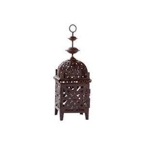 Brown Moroccan Style Lantern – small