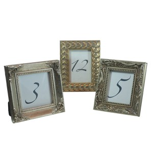 Frame Table Number – Gold, small mixed