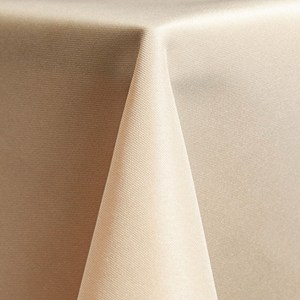 Solid Polyester – Beige