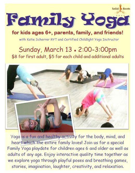 Family Yoga Katie Scherrer