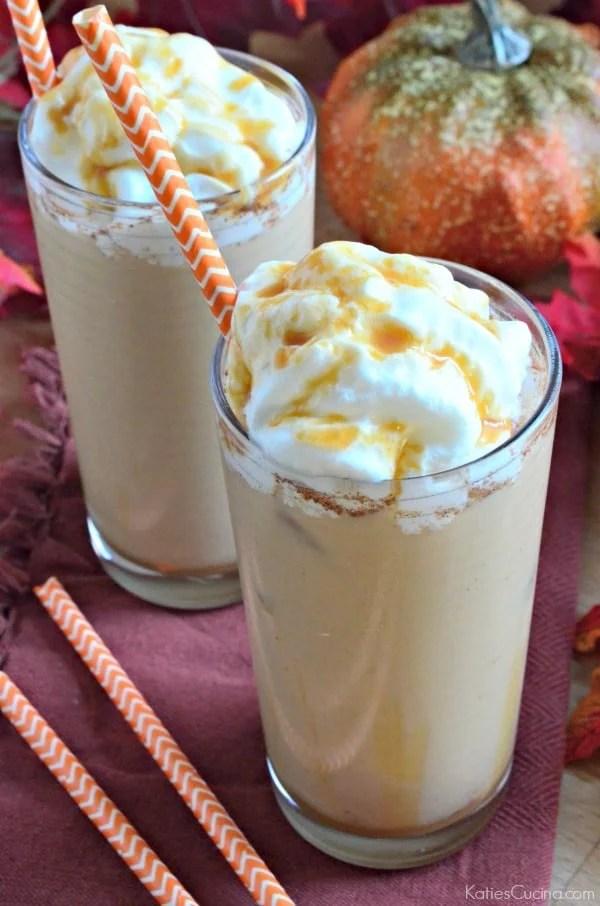 Iced Pumpkin Coffee