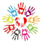 preschool kids hands image