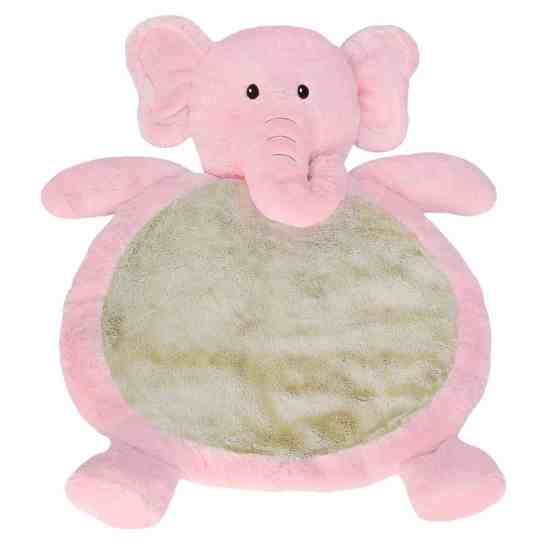Mary Meyer Pink Elephant Floor Mat