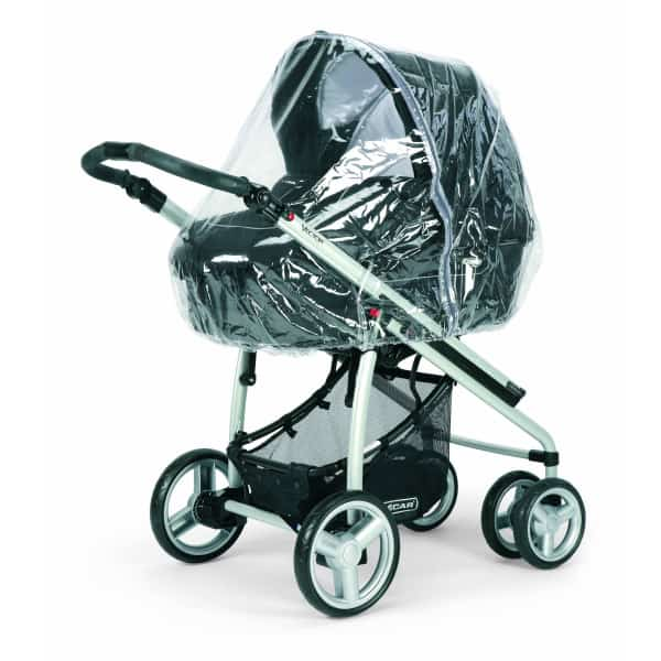 Bebecar Raincover To Fit Ip-Op/Stylo Carrycot & Seat Units