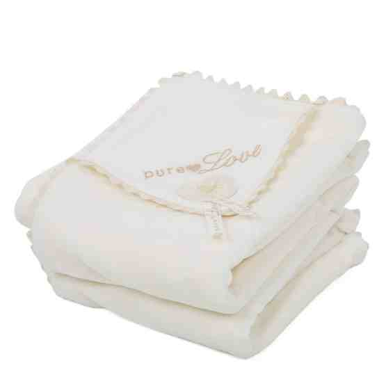 Natures Purest Pure Love Velour Blanket