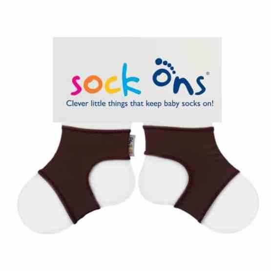 Sock Ons Brown (0-6 Months)