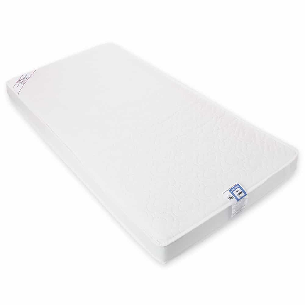 KATY® 132 x 70cm Luxury Sprung FULLY BOUND with Taped Edge Spring Cotbed/Junior Bed Interior Mattress