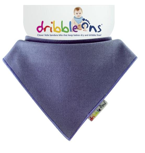Dribble Ons Bandana Bib Blueberry