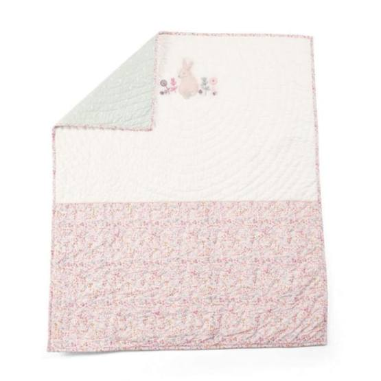 Mamas & Papas Lilybelle Cotbed/Cot Coverlet Pink