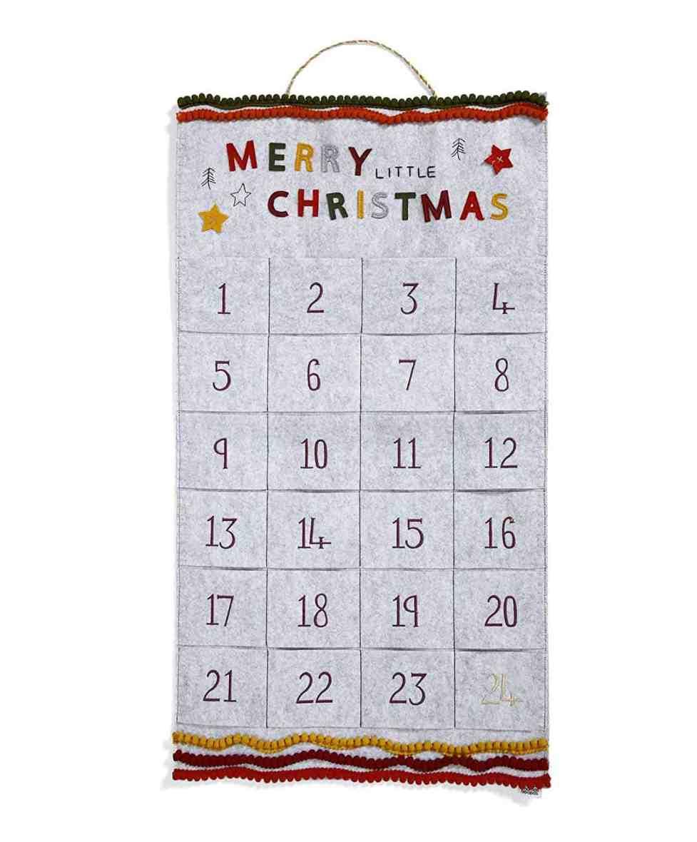 Mamas & Papas Grey Christmas Advent Calendar
