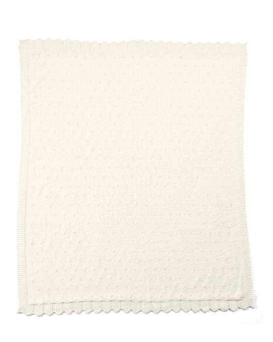 Mamas & Papas Lilybelle Pointelle Cream Blanket