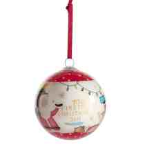 MP Red Bauble 2019
