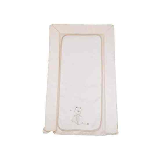 Deluxe PVC Baby Changing Mat – Cream Little Bear With Liner