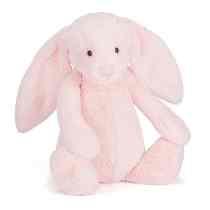 JC Bashful Huge Pink Bunny