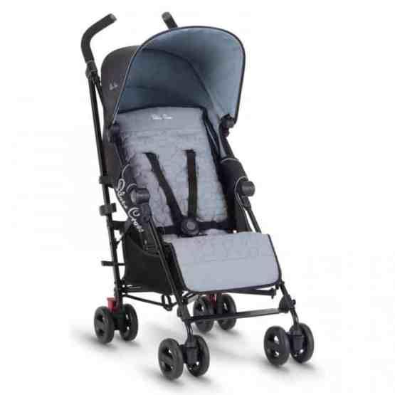 Silver Cross Zest Stroller- Powder Blue