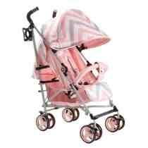 MY Babiie Pink Stroller MB02