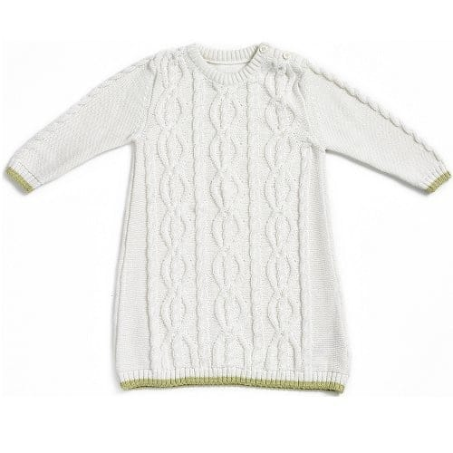 Natures Purest Kids Cable Knit Dress – 18 Months